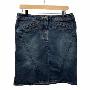 The Limited jean skirt- size 12